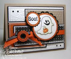 Boo! by Kharmagirl - Cards and Paper Crafts at Splitcoaststampers