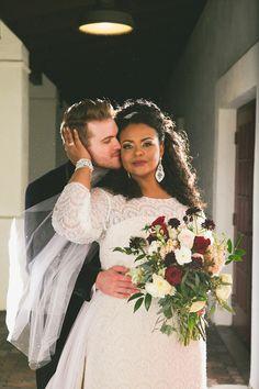 Beautiful interracial couple wedding photography featured in Munaluchi Bride Magazine Interracial Marriage, Interracial Wedding, Interracial Love, Perfect Wedding, Dream Wedding, Wedding Day, Wedding Shot, Budget Wedding, Wedding Tips