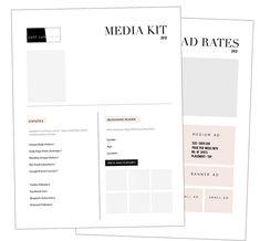 Media kit how-to via LifeStyle