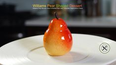 Williams Pear Shaped Dessert – Bruno Albouze – THE REAL DEAL - YouTube