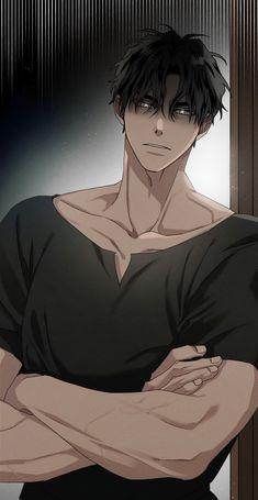 Red Hair Anime Guy, Dark Anime Guys, Hot Anime Boy, Cute Anime Guys, Manga Boy, Anime Manga, Anime Couples Manga, Anime Art, Cute Anime Coupes