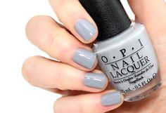 OPI 'Embrace The Gray' | Fifty Shades of Gray Collection