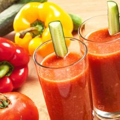 Tomato juice could be a good alternative as a post workout drink to help with recovery. This article describes the added benefits it can have over using an energy drink which is really not a good idea.