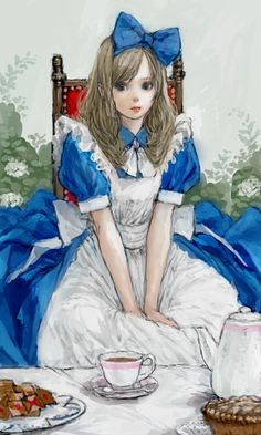 Alice in Wonderland -  Pon (Pixiv154444) - zerochan