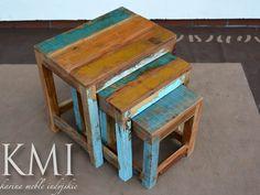 karina meble indyjskie - kolonialne stoliki drewniane