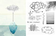 Up Among The Clouds / HASSELL - 谷德设计网 Melbourne Food, Wine Festival, Wine Recipes, Clouds, Hand Painted, Cloud
