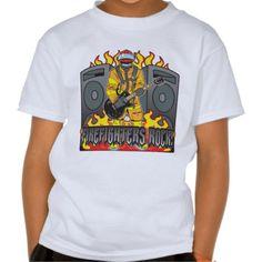 #Firefighters Rock Guitar #Shirt