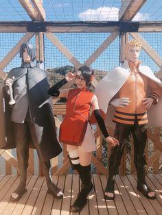 Sarada Uchiha, Naruto Shippuden, Boruto, Naruto Cosplay, Anime Cosplay, Opera House, Costumes, Accessories, Opera