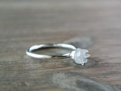 Geode Ring. One of a Kind Crystal Jewelry. OOAK by happylittlegems, $48.00