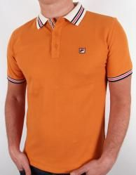 Fila Vintage - Matcho Polo Shirt in Copper