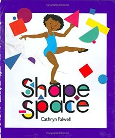 Shape Space by Cathryn Falwell Basic Geometry, Strong Female Characters, Book Reviews For Kids, Shape Books, Houghton Mifflin Harcourt, Used Books, Story Time, Childrens Books, This Book