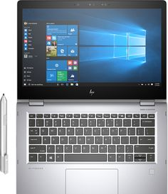 Despite its flashy exterior, the HP EliteBook x360 2-in-1 laptop is all business inside, with an Intel Core i7 processor, 14-hour battery life, and a comprehensive set of security features.