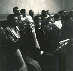 marilyn at the actors studio, 1955. photograph by roy schatt. luminous.