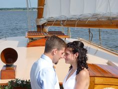 Always and forever the best of friends♥ Small Nautical Weddings, intimate elopements, unforgettable authentic experiences, aboard the family yacht Sail Selina II, St Michaels MD