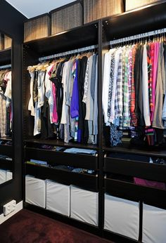 Would love to redo our closet so that it looks like this!!!