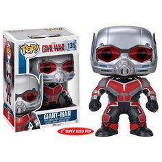 Figurine Pop! XL Captain America Civil War Giant-Man