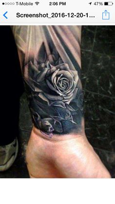 Half sleeve tattoos have become a favorite for men who want the best of both worlds – a tattoo design that can be covered for work and professional events, yet visible in a short-sleeve shirt in social settings. Half or even quarter sleeve tattoos also of Men Flower Tattoo, Rose Tattoos For Men, Beautiful Flower Tattoos, Wrist Tattoos For Guys, Black Rose Tattoos, Forearm Tattoos, Tattoos Pics, Mens Wrist Tattoos, Tattoo Flowers