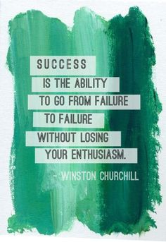 Winston Churchill knew how to fail. #quotes #success #dailysecret