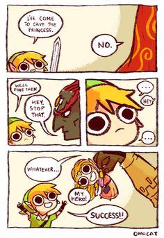 Success!! | #LegendOf #Zelda #Omocat #Funny
