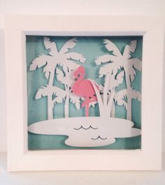 Beautiful Flamingoes <3 by Zoe Rawcliffe on Etsy
