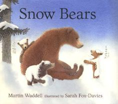 the game, martin waddel, mother, bear children, bear play