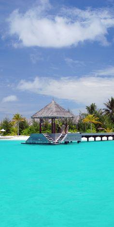 #Naadhu...Maldives.  Yes, the water IS this gorgeous!  ASPEN CREEK TRAVEL - karen@aspencreektravel.com