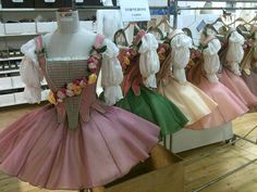 Sewing Like Mad: Industry Insiders - Lone, Dressmaker (theatre) | costumes from Sleeping Beauty. | I like the colors here!