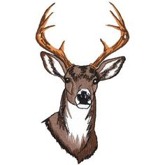 Free Deer Machine Embroidery Designs | Deer Embroidery Designs | Joy Studio Design Gallery - Best Design