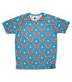 #FoxBlue - Hoopoe running apparel. #hoopoerunning #fancyshirts #runwithstyle