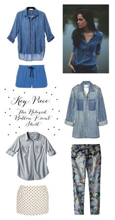Key Piece for Spring: The Relaxed Denim Button-Down