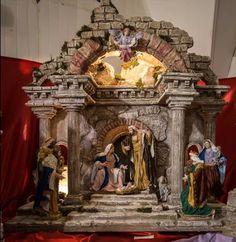 Pin by Lydia Valletta on cribs/presepe Christmas Nativity Set, Christmas Carol, Christmas Crafts, Christmas Decorations, Nativity Sets, French Country Christmas, Christian Christmas, Cribs, Scene