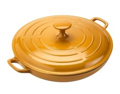 Liven up your kitchen with this bright orange shallow casserole dish - perfect for cooking curries. Priced at £45. #sainsburys #autumndreamhome