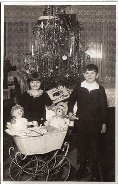 Christmas 1928  For my Buddy who waits for my Christmas posts. You Rock, yeah? from Ox