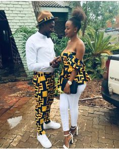 Couples African Outfits, African Attire For Men, Couple Outfits, African Wear, African Dress, Latest African Fashion Dresses, African Print Fashion, Ankara Dress Designs, African Wedding Dress