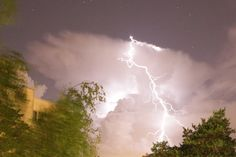 I shot a couple of weeks ago shooting stars. Not seen, but the thunder was a surprise. #thunder #lightning