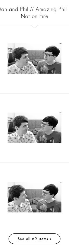 """Dan and Phil // Amazing Phil is Not on Fire"" by electrasullivan ❤ liked on Polyvore featuring youtube, youtubers, dan and phil, phil lester, tops, sweaters, flower sweater, flower top, t-shirts and flower t shirt"