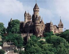 One of my favorite castles!  Schloss Braunfels - Germany.