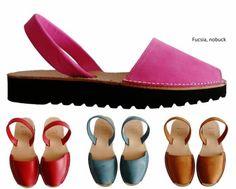 a9a9c115728 Detalles de Avarcas menorquínas plataforma 2,5cm real menorcan sandals  menorca spain abarcas