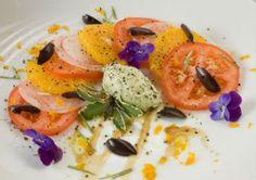 Сицилийский салат из апельсинов и лука