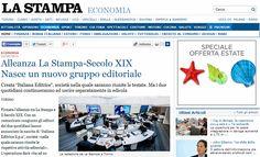 """Svolta storica nell'editoria: alleanza per il futuro sostenibile tra """"La Stampa"""" e """"Il Secolo XIX"""". Nasce Italiana Editrice"""