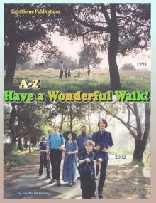 FREE A-Z Cursive Copywork while Encouraging your Children to go on Family Walks !