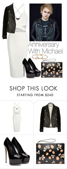 """""""Anniversary with Michael"""" by lovatic92 ❤ liked on Polyvore featuring River Island, Marni and Topshop"""
