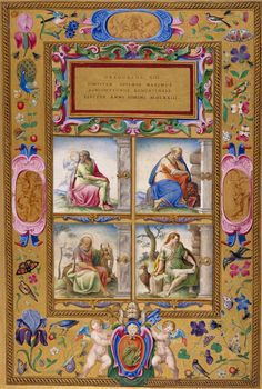Four Evangelists | possibly from a Gospel Book made for Pope Gregory XIII | Illuminated Manuscript | ca. 1572–85 | The Morgan Library & Museum