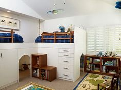 cool bedroom ideas for pre-teen boy | White Decoration in Modern Bedroom Color Themes for Teenagers Boys ...
