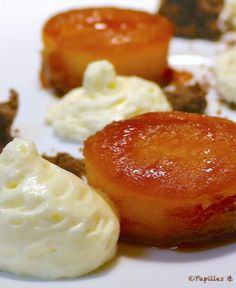 Baked Apples Tatin - Pommes au four façon Tatin Easy No Bake Cheesecake, Best Cheesecake, Apple Deserts, Baked Pumpkin, Baked Apples, Sweet Recipes, Dessert Recipes, Food And Drink, Favorite Recipes