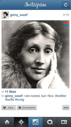 If Famous Writers Had Instagram OMG this is AWESOME