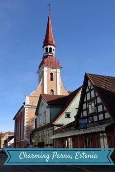 Pärnu, Estonia - the charm of the pre-war resort: