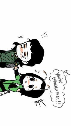 Loki & Mantis || Avengers Infinity War || Cr: ℒɐızʎ_ArTš