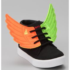 9d6bc1f59f Take a look at this Neon Green   Neon Orange Shwings by Shwings on today!  Not gonna lie