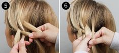 Four-Strand Braid: Steps 5-6